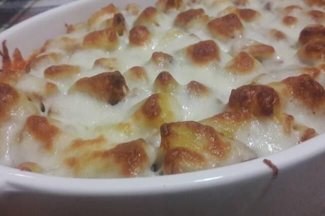 Kıymalı fırın patates tarifi