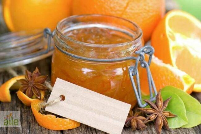 Portakal reçelli tart tarifi