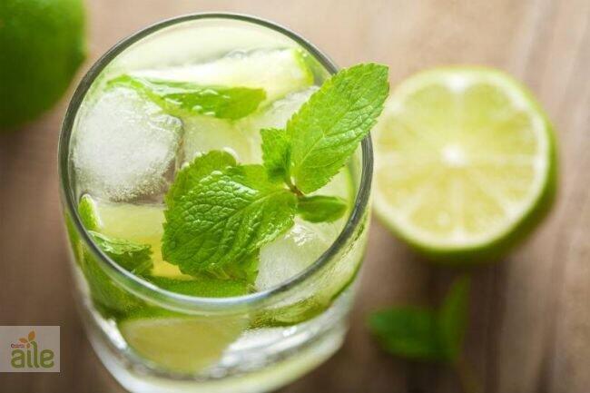 Nane yapraklı limonata tarifi