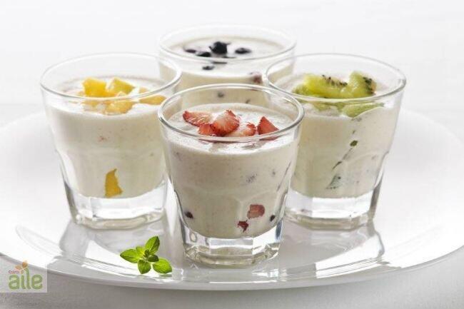 Yoğurtlu milkshake tarifi