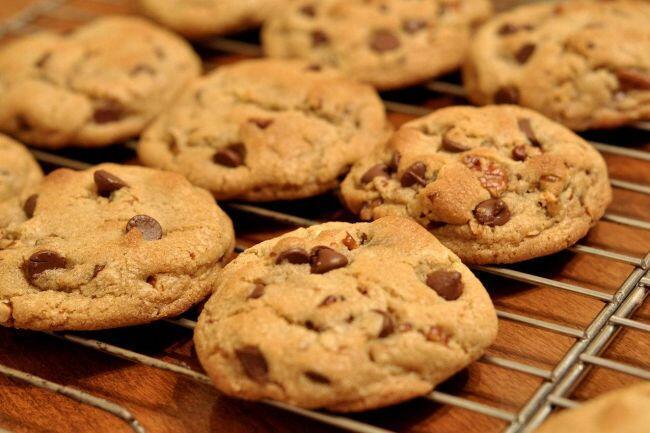 Parça çikolatalı kurabiye tarifi