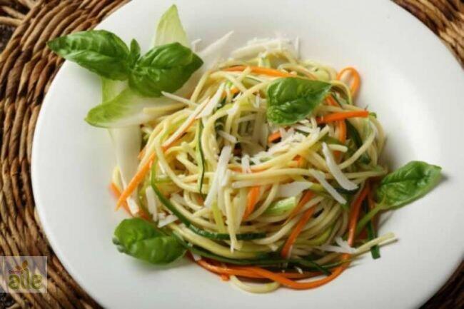 Havuçlu spagetti tarifi