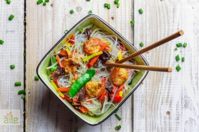 Karidesli pirinç makarna tarifi
