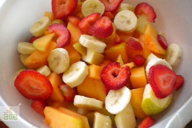 Kavun salatası tarifi