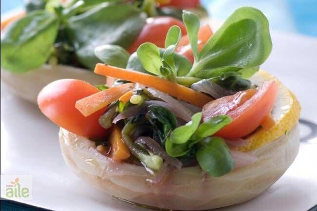 Fıstıklı semizotu salatası tarifi