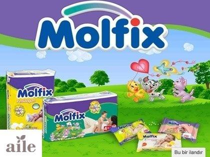 Molfix ile Neşeli Bebekler Gerçek Gülücükler