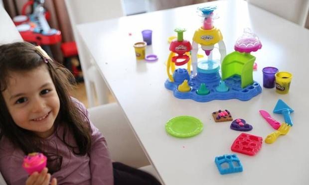 Oyun hamuru ile çocukların yaratıcılığı gelişiyor