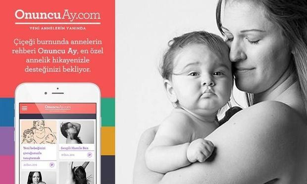 OnuncuAy.com, yeni annelerin hikayelerini bekliyor