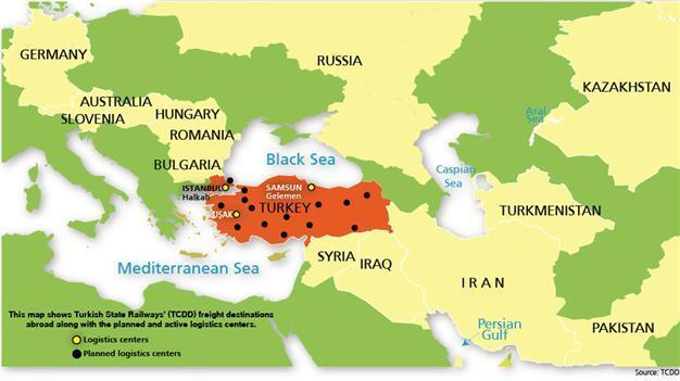 No Turkish trains arrive in Syria, Iraq for months - Latest News on