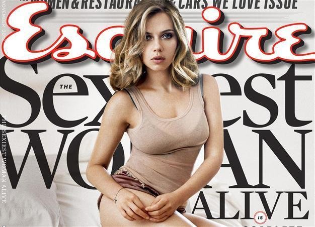 cover esquire Sexiest alive woman