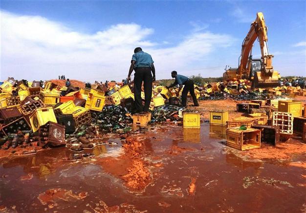 Image result for Kano State Set To Destroy Bottles Of Beer