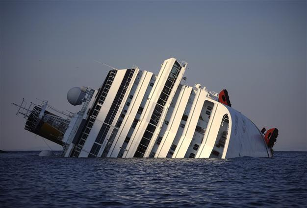 Cruise Ship Concordia To Be Scrapped In Italy - Sunken cruise ships