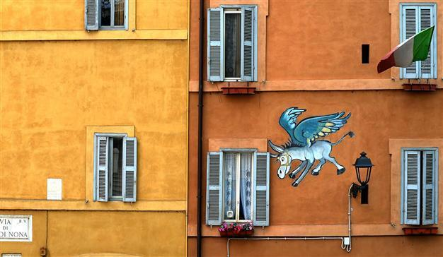 From ancient graffiti to street art: Rome\'s walls tell a story