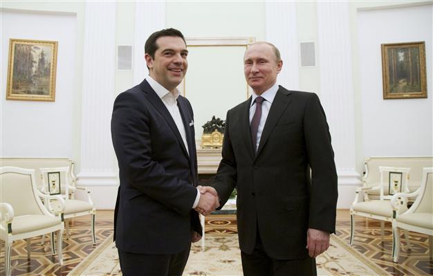 Tsipras Putin