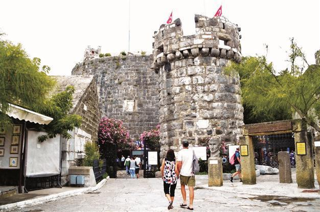 Bodrum Castles Painted Ottoman Cannon Cleaned