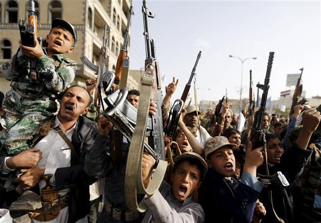 Houthi forces in Yemen seize provincial capital near Saudi border