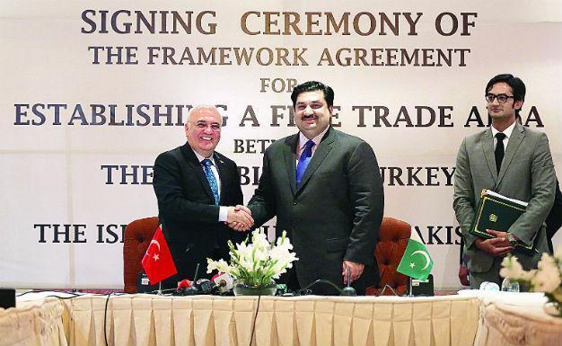 Turkey Pakistan Sign Free Trade Agreement Framework Latest News