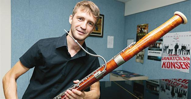 bassoon to be able to be tuned after turkish artists work