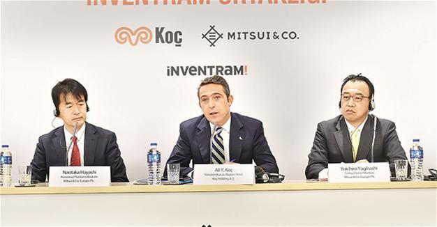Japan's Mitsui buys 30 percent stake in Koç Holding's tech