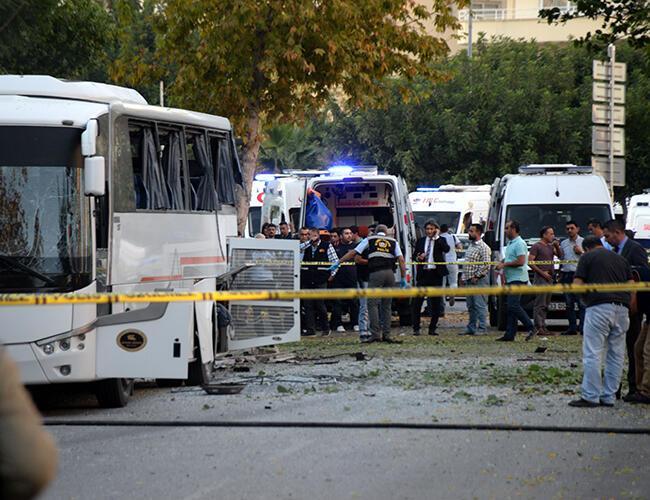 Bombattentat mot minister