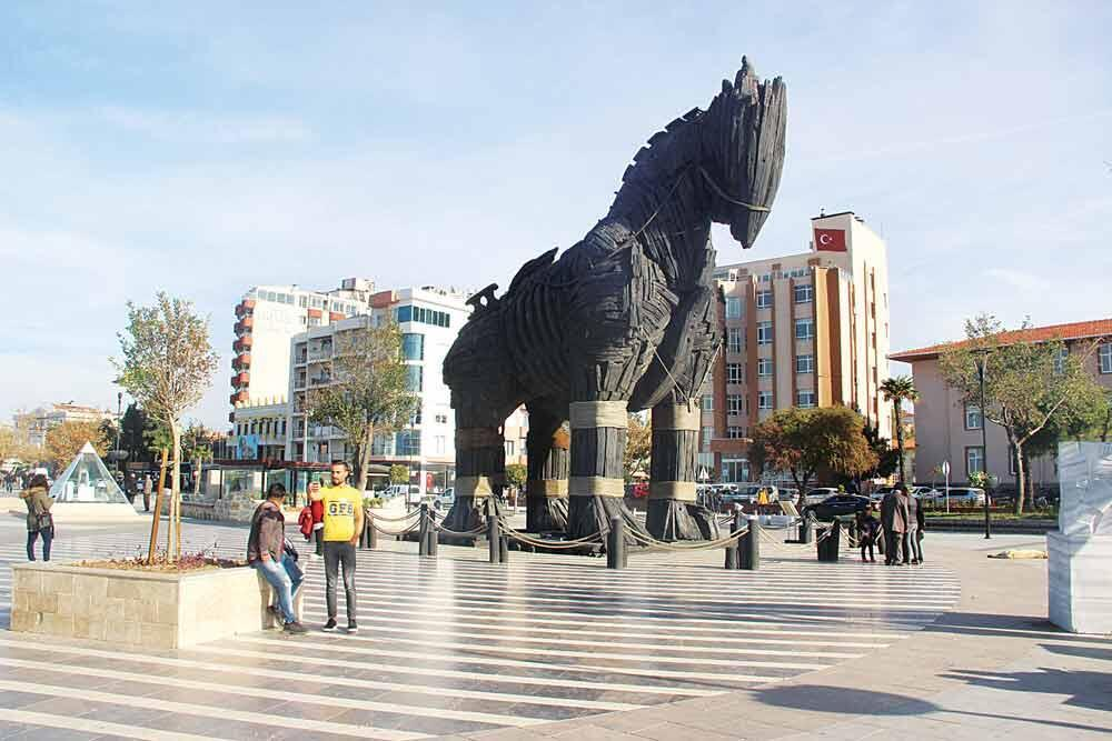 The Trojan horse: A horse or a boat?  The Trojan hors...