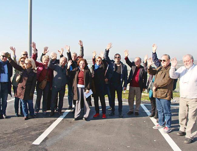 A reunion at the prison gates for Osman Kavala