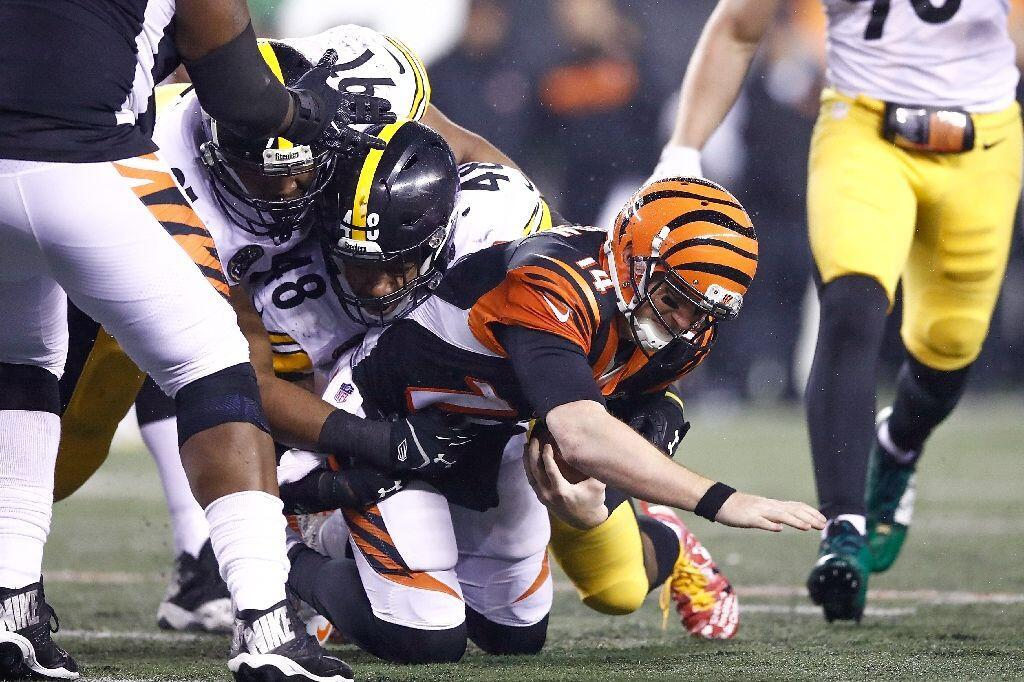 reputable site 51822 70d71 Steelers pip Bengals as injuries dominate - Turkish News