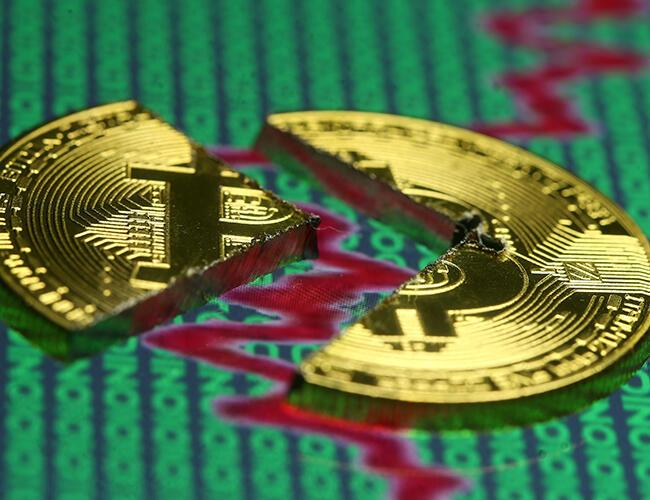 Bitcoin suffers fresh plunge, losing a third since start of week