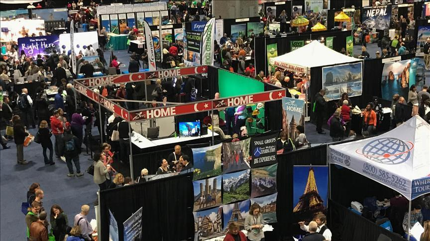 Americans flocks to Turkish stands in Washington travel show