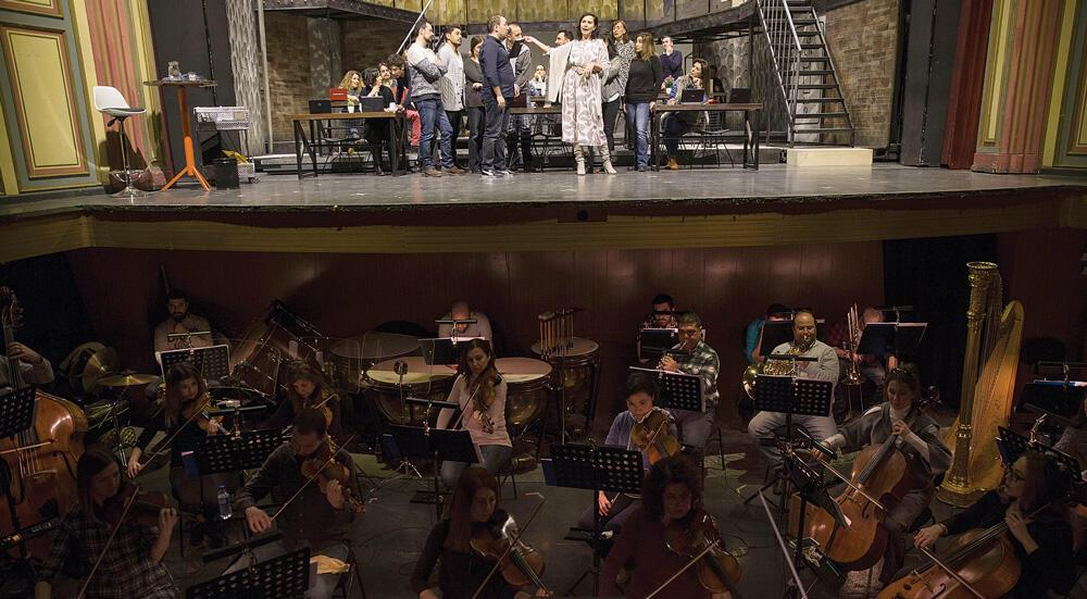 Donizetti's 'Elixir of Love' opera adapted to office life