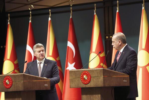 Turkey backs Macedonia in name row with Greece