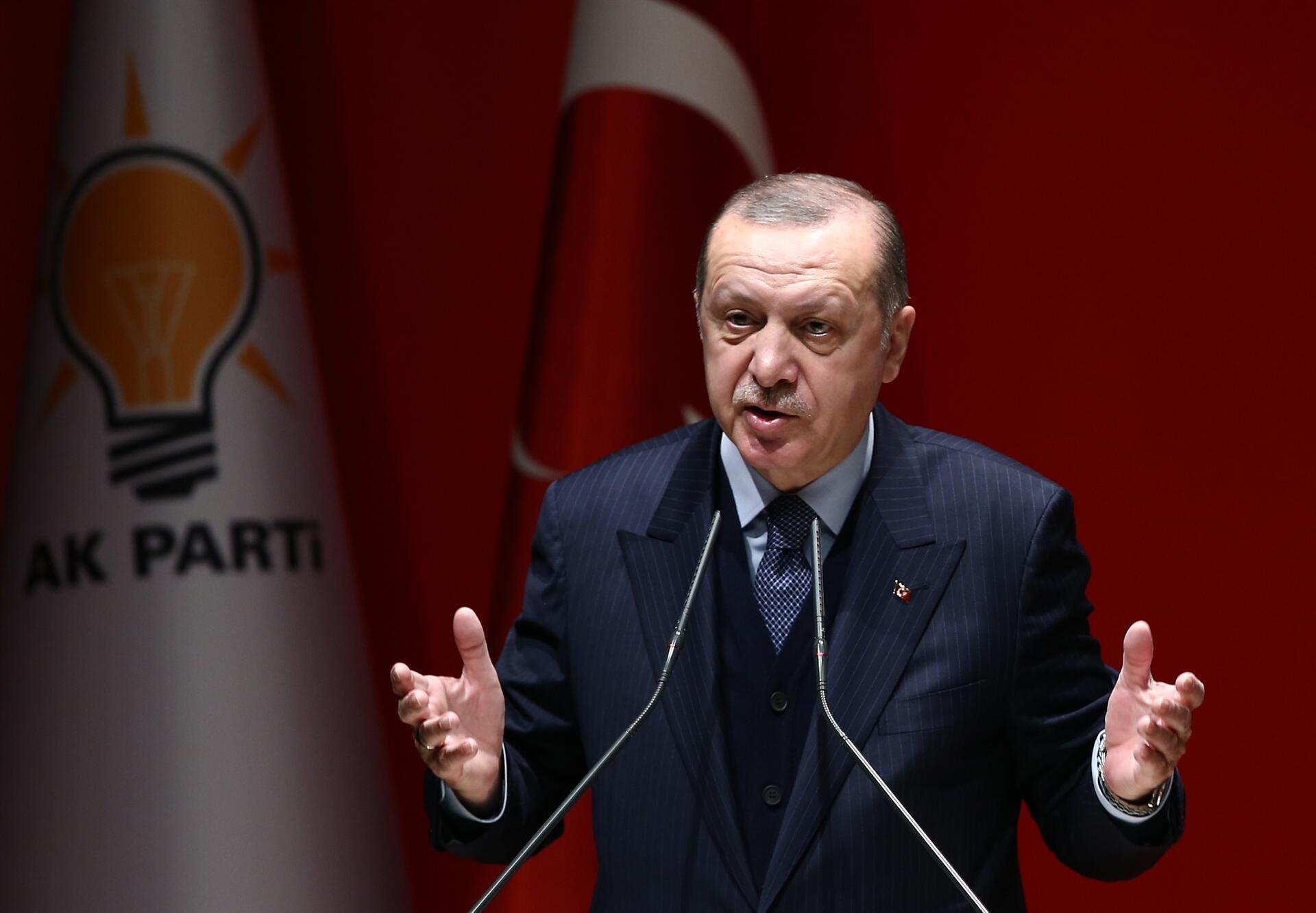 Erdoğan blasts US for spreading 'fake news' over Afrin