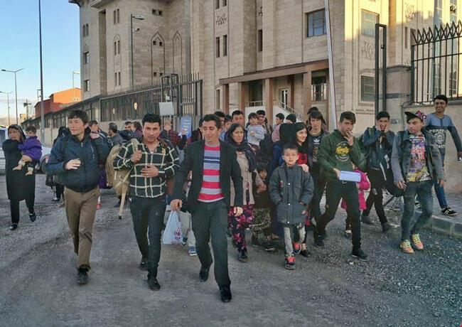 Record number of Afghan migrants reaching Eastern Turkey without papers