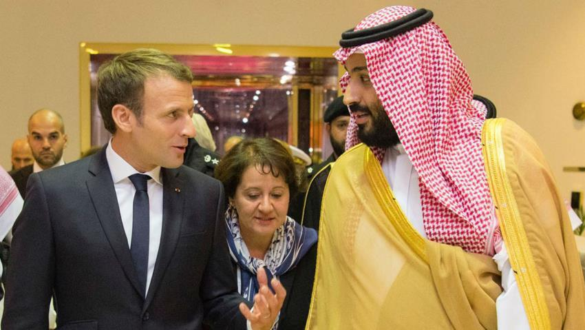 Ahead of Saudi prince visit, MP question French arms sales