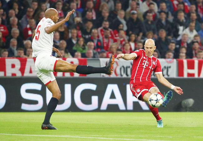 ccb3e660fe Bayern must be fearless against Real  Robben - Turkish News