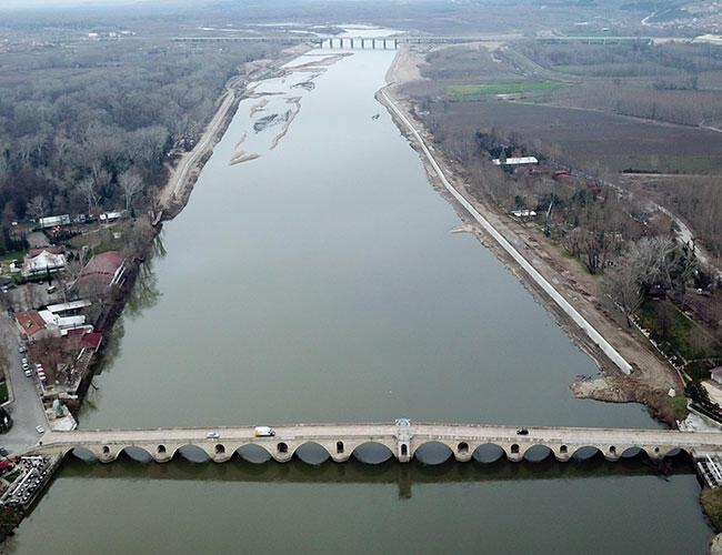 Canal Edirne project by Turkey-Greece border almost complete