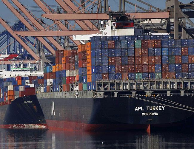 Turkey's trade gap widens as exports and imports rise in first