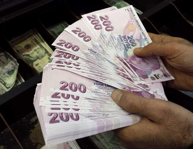 Turkish Lira Falls To New Record Low Against Dollar Over Inflation Fears