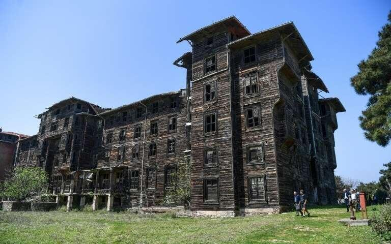 Greek Orthodox orphanage, Europe's largest wooden building, awaits salvation off Istanbul