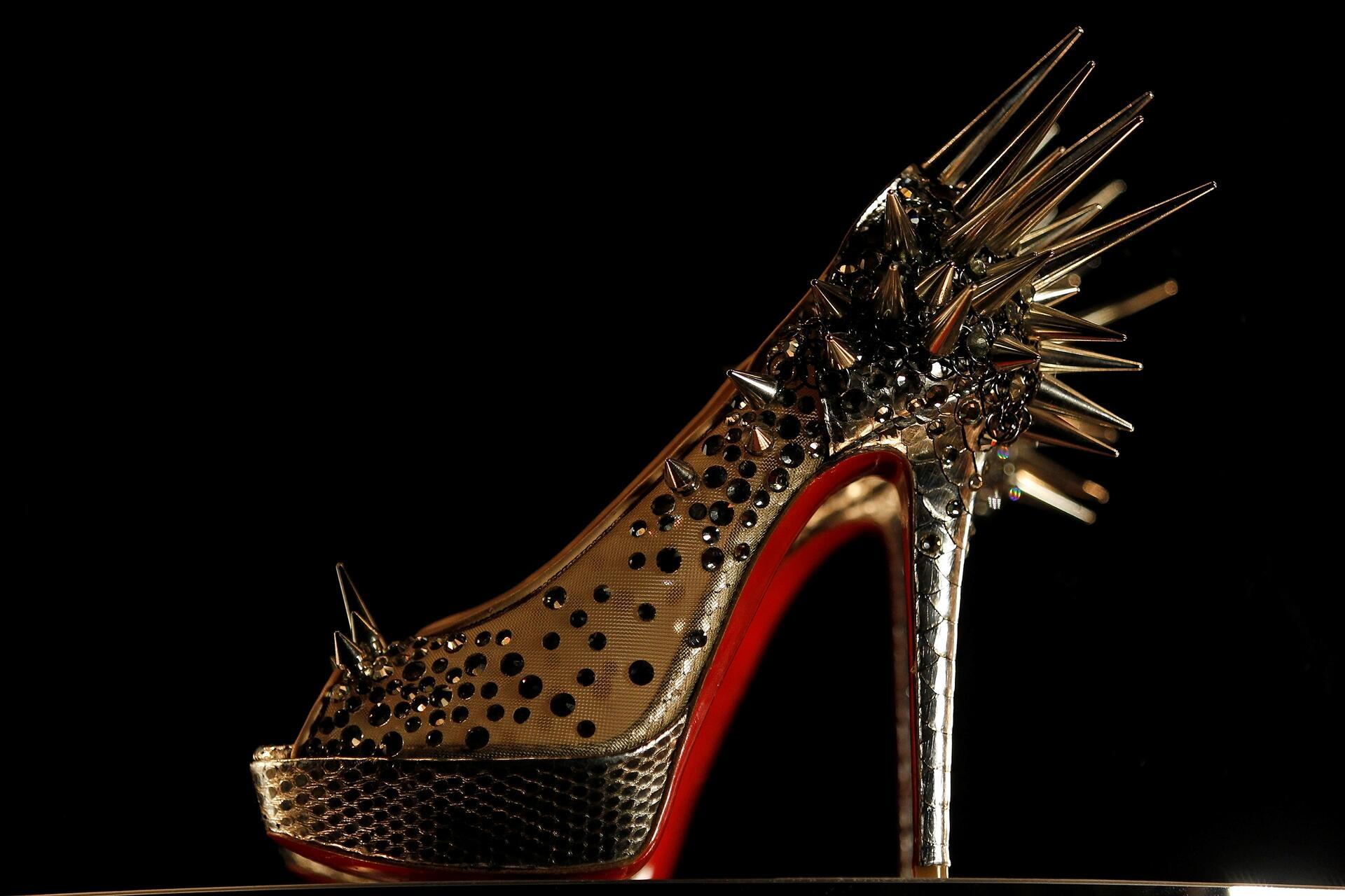 70448a76095 Louboutin wins EU court battle over red-soled shoes