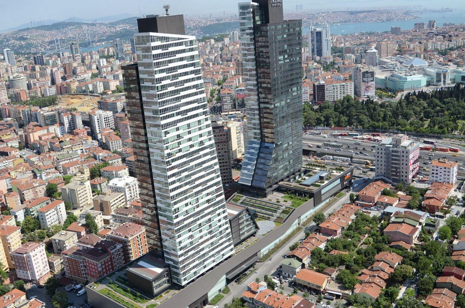 Trump Towers in Istanbul, Turkey
