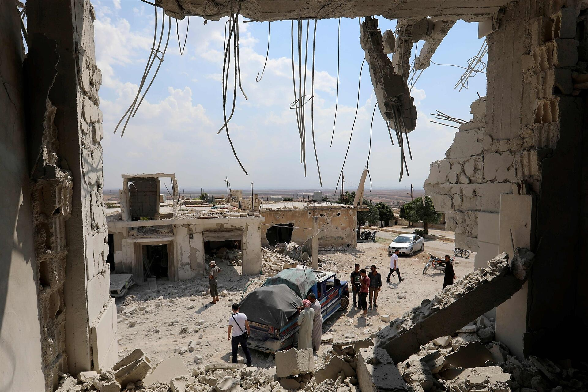 Regime, Russian air raids resume on Syria\'s Idlib - World News