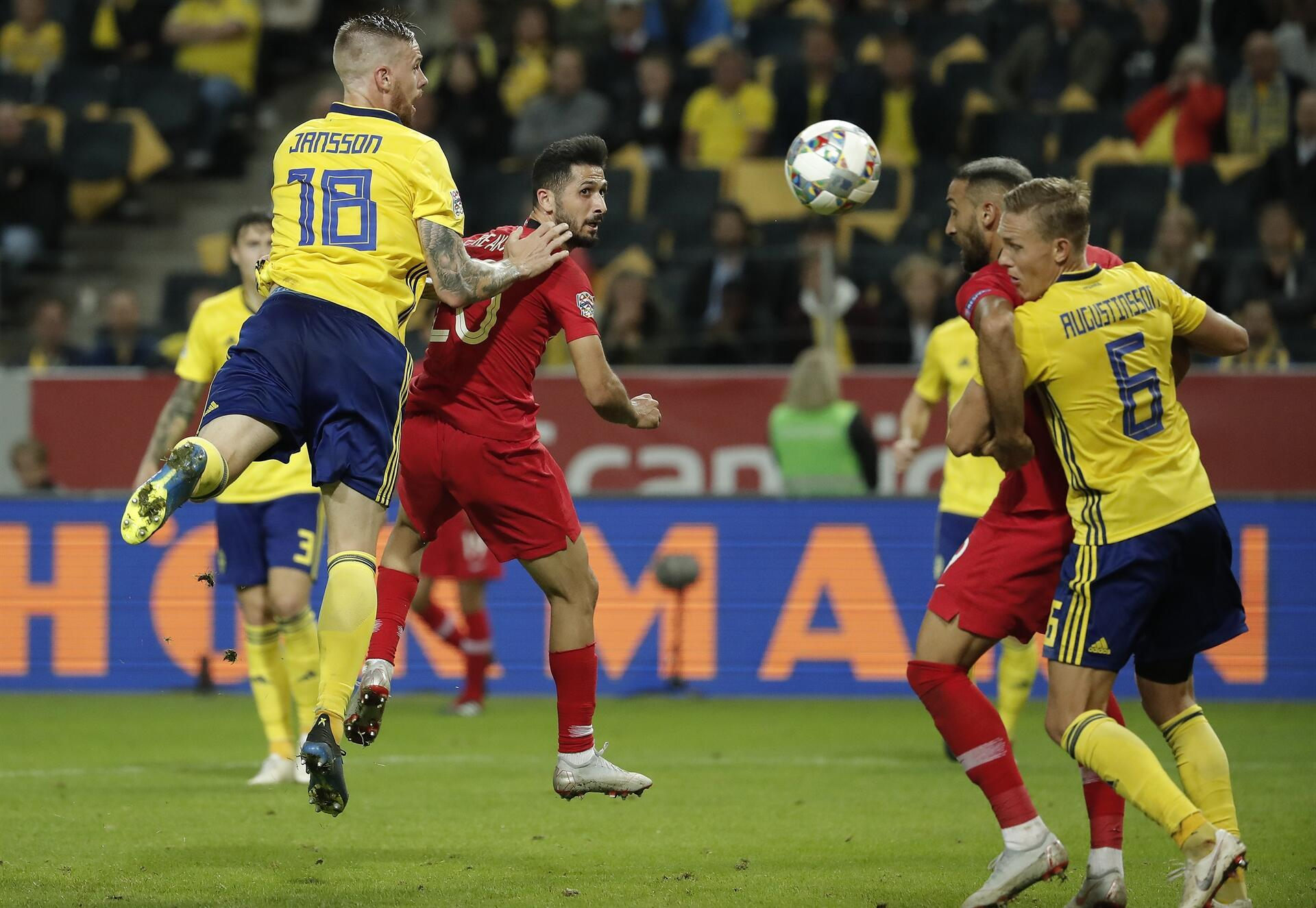 Turkey beats Sweden 3-2 in UEFA Nations League