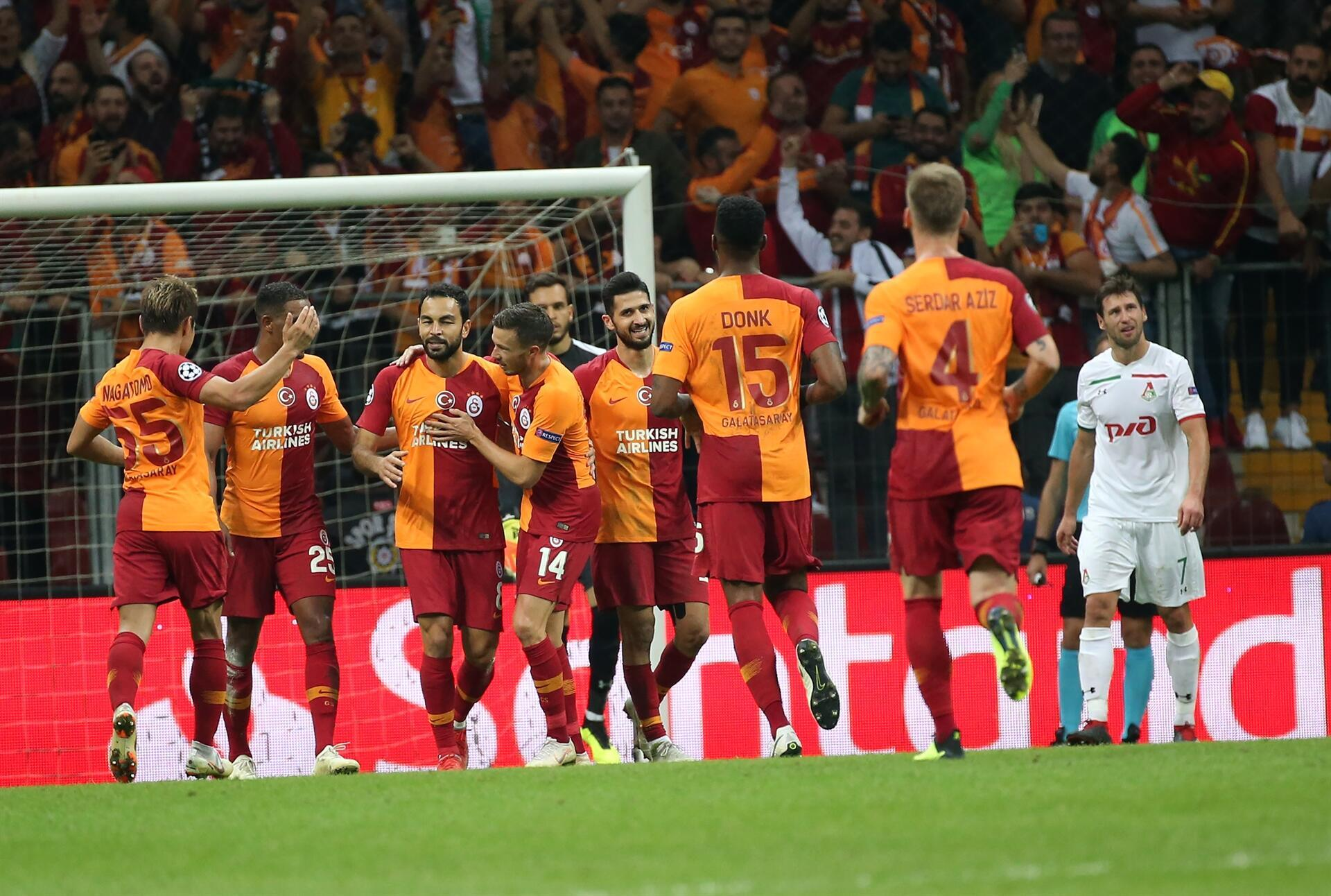 galatasaray beat lokomotiv moscow in champions league turkish news