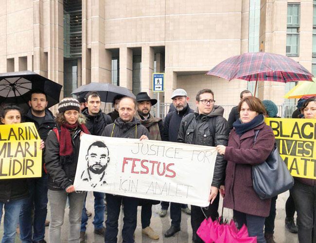 Case on Nigerian refugee Festus Okey murdered at Istanbul police