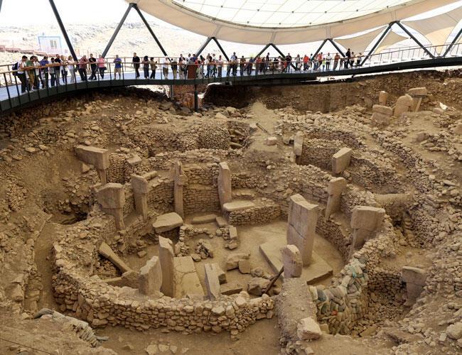 نتيجة بحث الصور عن Göbekli Tepe, Turkey