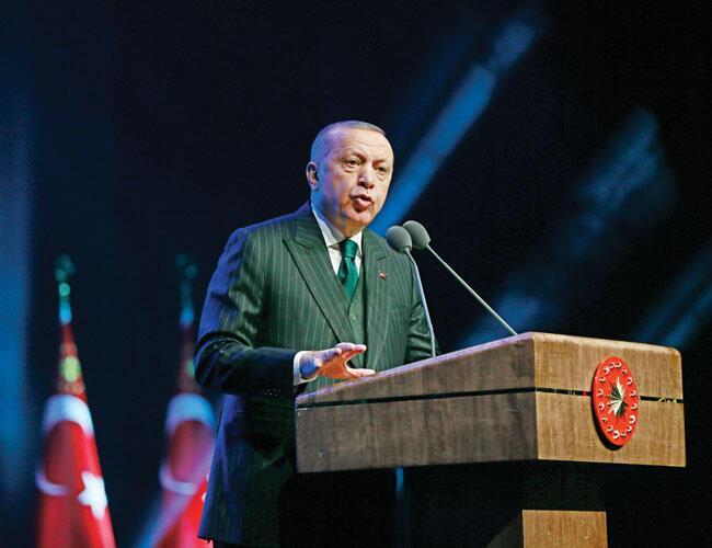 Turkey 'foiled cyberattack on military': Erdoğan