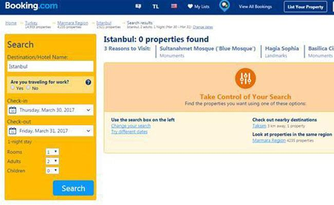 Booking Com Needs No Travel Agency License In Turkey Expert