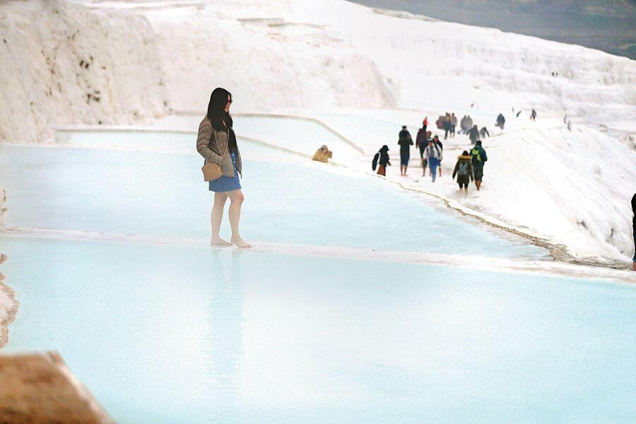 Dating travertines at pamukkale