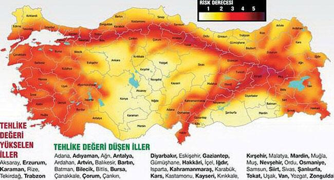Scientists raise objections to Turkey\'s updated earthquake map over ...